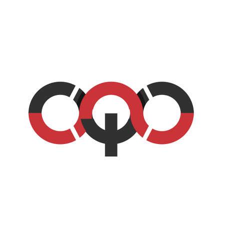 OQO, OQC, CQC initials modern technology logo and vector icon