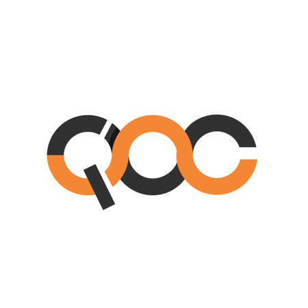 QOC, CQOC, QPC initials modern technology logo and vector icon