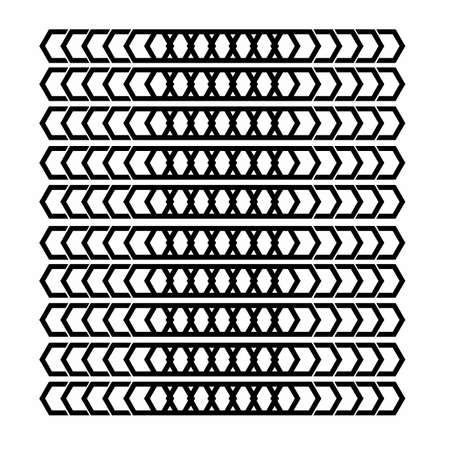 batik ornamental line art geometrical pattern for background and wallpaper