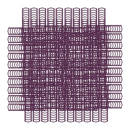 ornamental line art geometrical pattern for background and wallpaper 矢量图像
