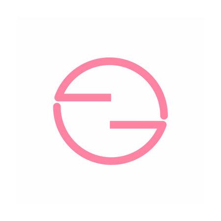 GG, EG, GGO, GOG, EGO, GNG, GHG , EOE initials geometric logo and vector icon 矢量图像