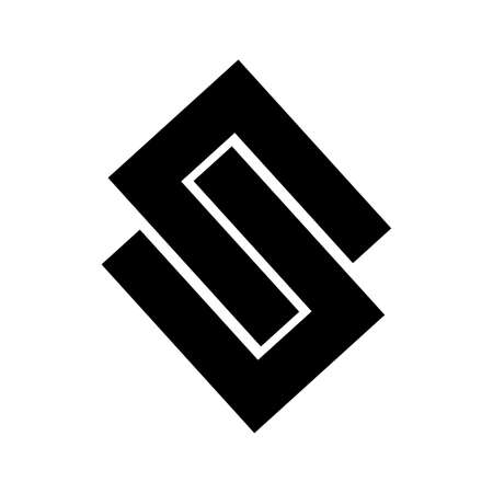 S, UN, NU, USU, NSN initial geometric company logo and vector icon