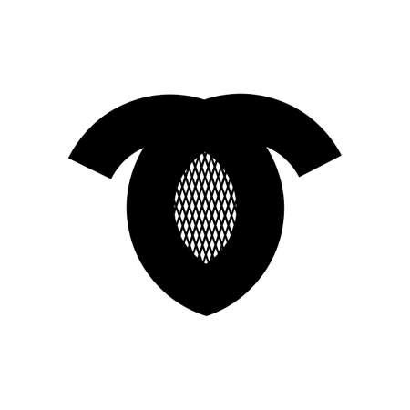 O, OT. TO, bd, bod initials geometric company logo and vector icon 矢量图像