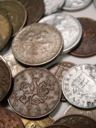 czech republic coin: old coins