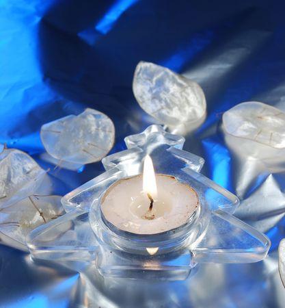 candleholder: christmas candleholder