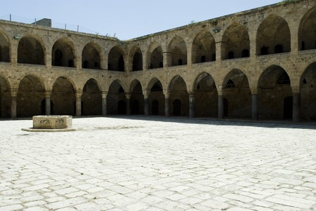 khan: Khan Al-Umdan in Akko (Acre), Israel