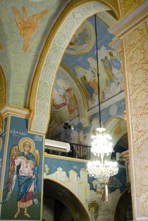 nazareth: Greek orthodox church  in Nazareth, Israel Editorial