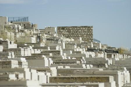 jewish cemetery, Jerusalem photo