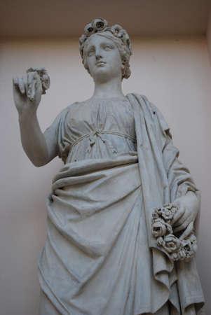 statue in Lednice area (unesco, czech republic)