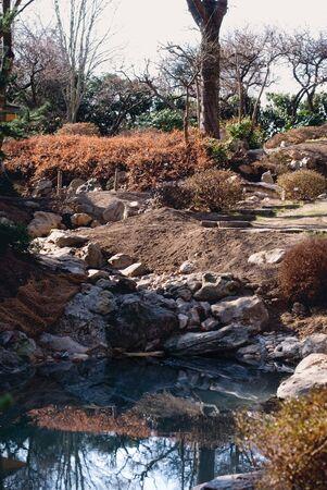 japanesse: garden Stock Photo