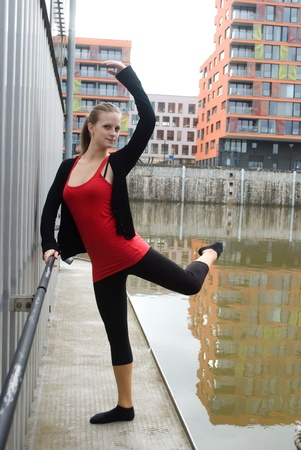 gril: dancer