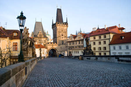 Charles bridge, Prague Stock Photo - 14061281