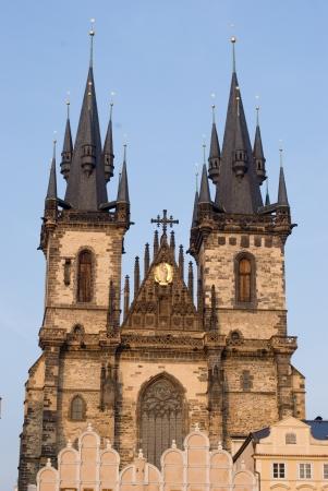 tyn: Church of lady before Tyn, Prague