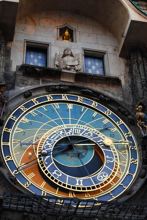 astronomical clock, Prague photo