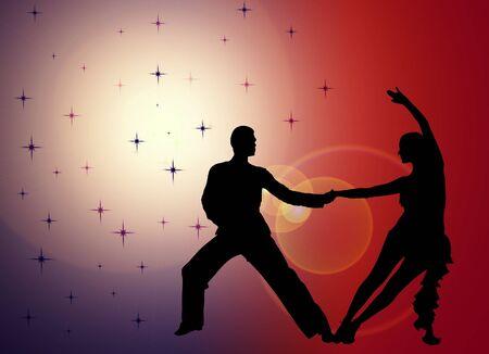 Tänzer Standard-Bild - 17220254