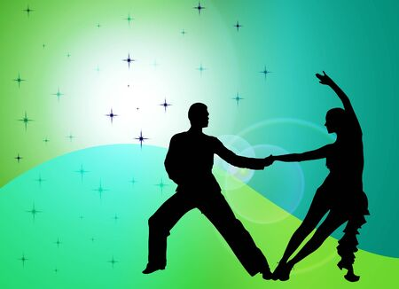 jive: dancers