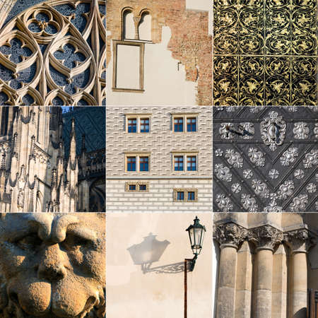 Prague architecture Stock Photo - 17820331