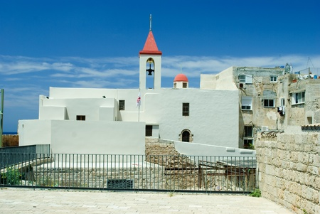 acre: Greek orthodox church in Acre (Akko), Israel