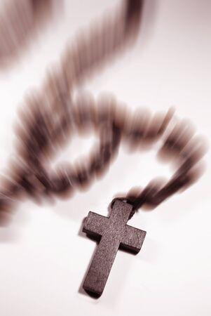 orison: prayer beads Stock Photo