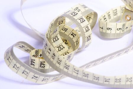 metre: measure tape Stock Photo