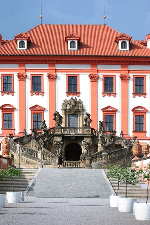 Troja castle, Prague photo