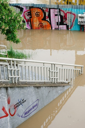 Floods in Prague, 3th june 2013