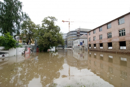 Floods in Prague, 4th june 2013
