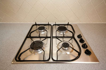 gas stove detail Stock Photo - 22924752