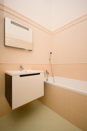 emty: empty bathroom Stock Photo