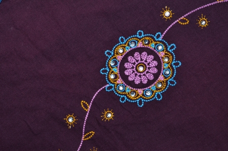indian fabric: indian fabric detail Stock Photo