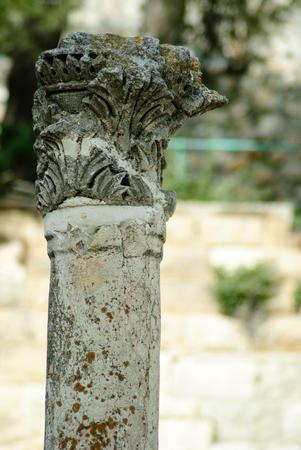 atone: antique column Stock Photo
