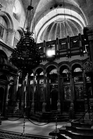 Church of the Holy Sepulchre interior, Jerusalem
