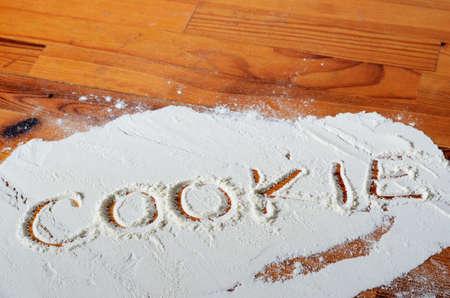 baking cookies photo