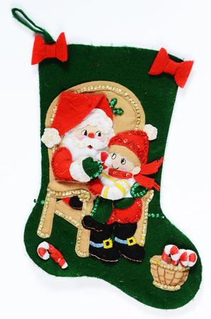 christmas sock photo