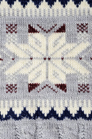cable knit: sweater detail Stock Photo