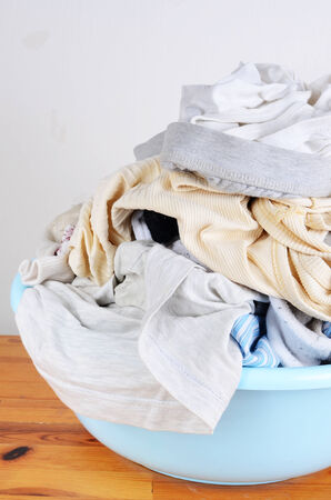 messy clothes: dirty clothes