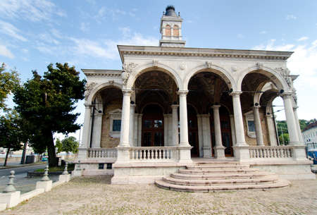 historical architecture: historical architecture in Budapest, Hungary Stock Photo