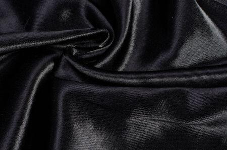 black silk: black silk satin background