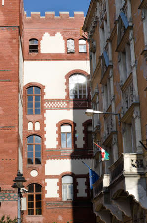 historical: Historical architecture in Budapest, Hungary