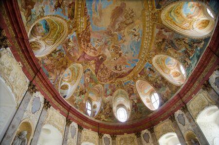 nad: Vranov nad Dyji, Czech republic- May 31th, 2015: Interior of castle Vranov nad Dyji Editorial