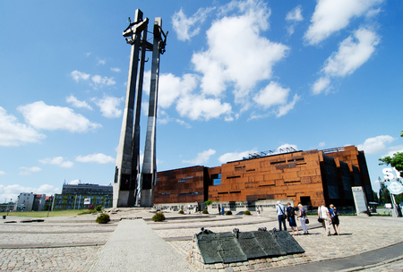 totality: Gdansk, Poland -  July 6th ,2015: European Solidarity Centre Editorial