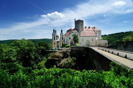 nad': Vranov nad Dyji castle, Czech republic