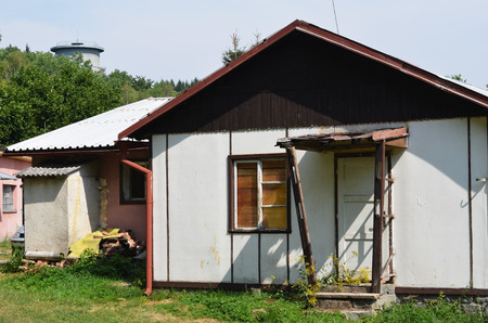 oud lelijk huis voor wederopbouw