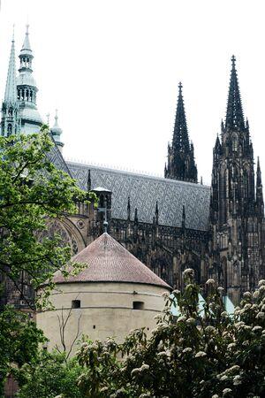 vitus: Saint Vitus cathedral in prague Editorial