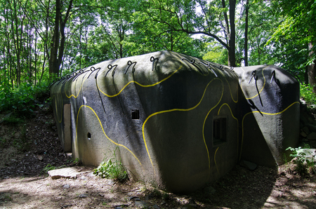 strong base: old military bunker
