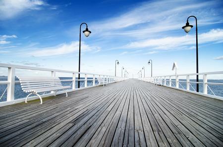Gdynia - Orlowo, Poland Reklamní fotografie