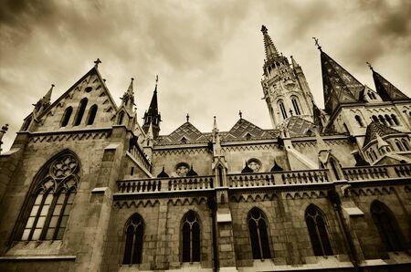matthias: Matthias church in Budapest, Hungary Stock Photo