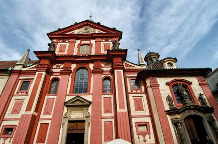 george: Basilica of St George, Prague. Czech republic.