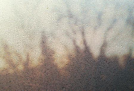 ornage: window Stock Photo