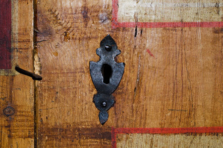 lock: antique lock